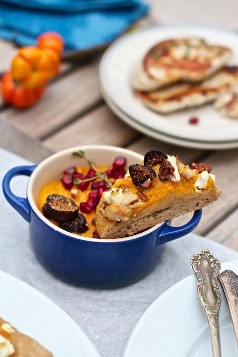 Thanksgiving Leftovers Pizza: Sweet Potato, Goat Cheese, Turkey on FamilyFreshCooking.com