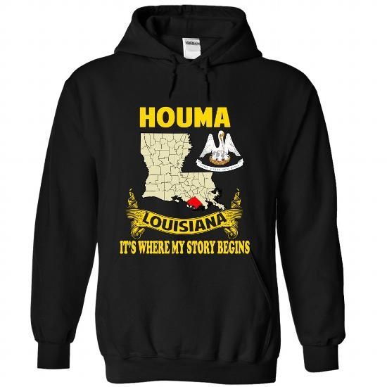 Houma - Its where my story begins! - #pink shirt #crop tee. BUY-TODAY => https://www.sunfrog.com/No-Category/Houma--Its-where-my-story-begins-9989-Black-Hoodie.html?68278