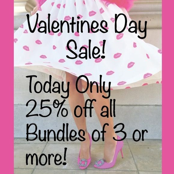 TODAY ONLY 25% OFF BUNDLES 3 OR MORE Today only!!!! J. Crew Other