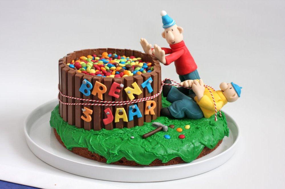 22 Ideeen Over Taart Buurman Buurman Kindertaarten Taart Verjaardagstaart