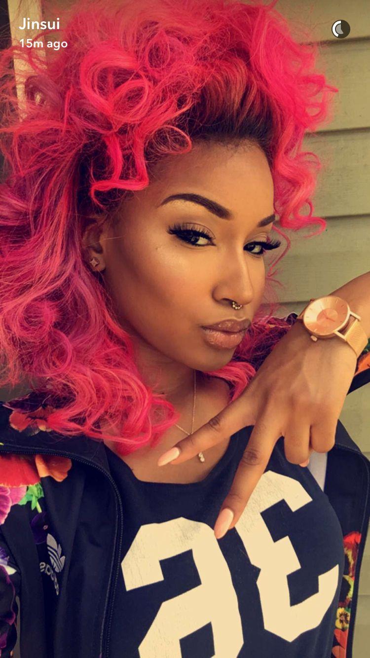 pin black women & hair