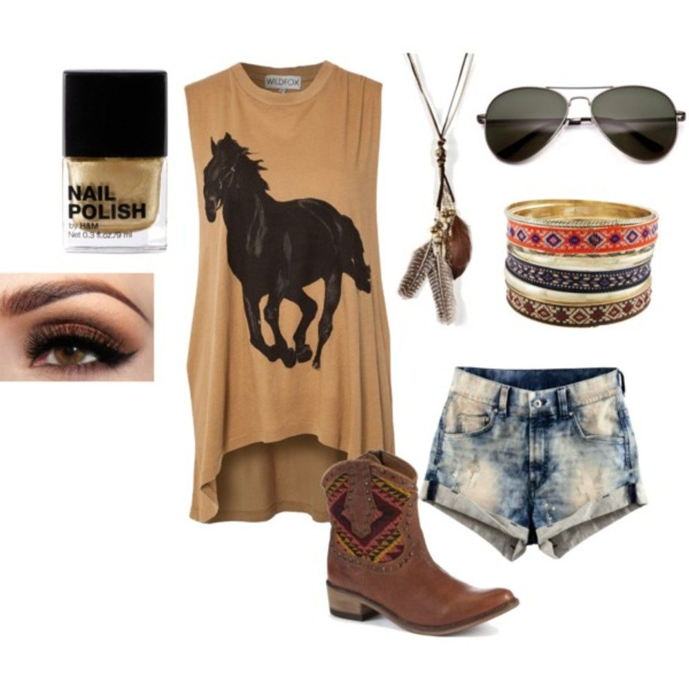 Cowgirl Fashions. I would def! I dig that!