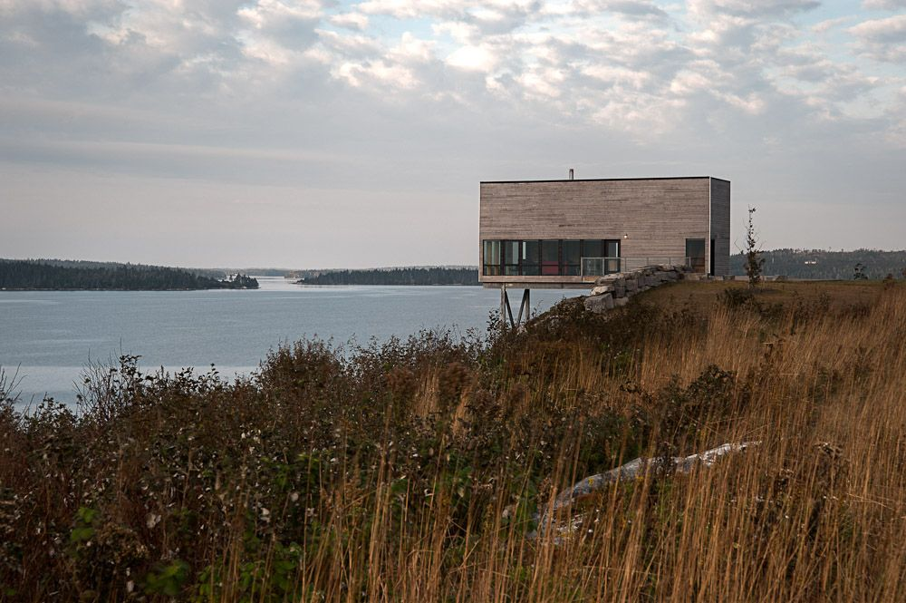 Cliff House Two Storey Cliff House in Nova Scotia Designed as a ...