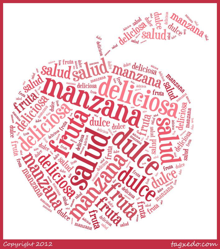 Use Spanish Vocabulary In Shapes With Word Clouds From Tagxedo Spanish Playground Spanish Vocabulary Vocabulary Making Words