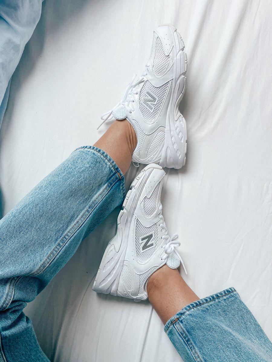 IG @noemielpmt | New balance outfit, New balance white, New shoes