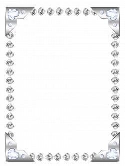 Diamond Border Clipart Gems Clipart Diamond Border Frame Clipart Jewel Frames Clip Art Borders