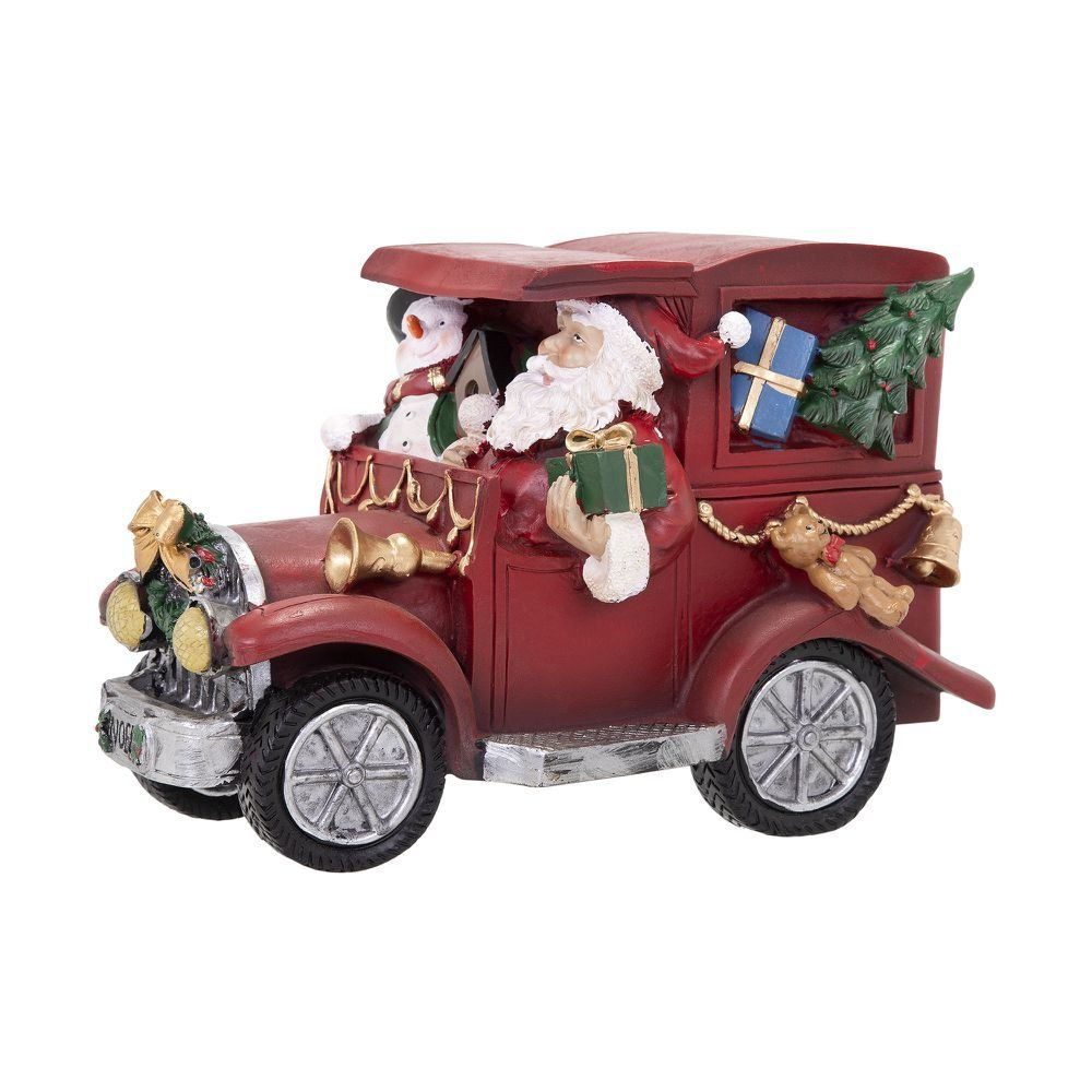 A Rena Mais Famosa Do Papai Noel carro papai noel led magic 15 cm (com imagens)  adornos