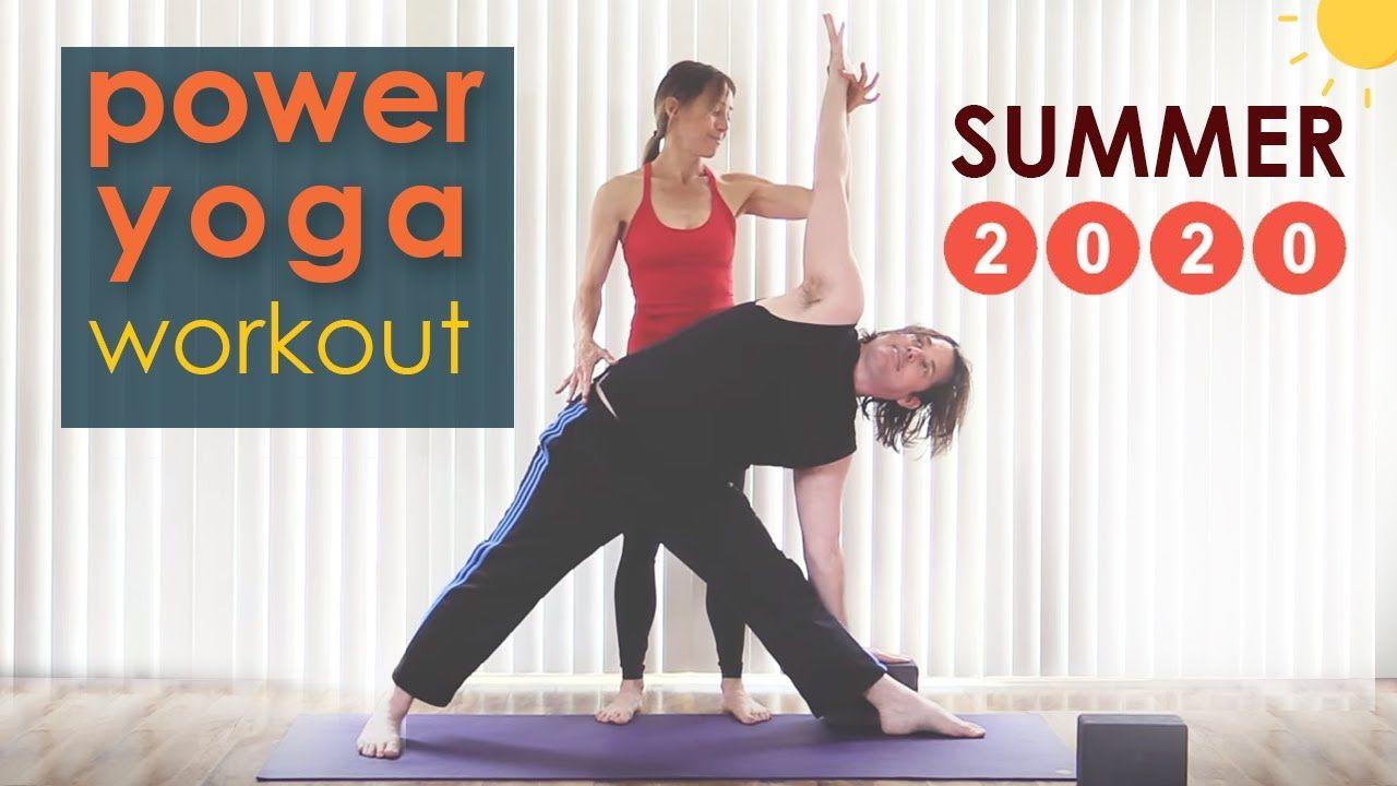 Youtube Power Yoga Workout Power Yoga Yoga Fitness