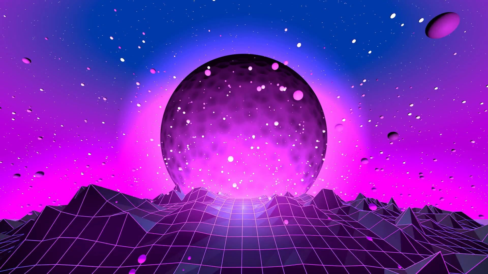 Neon 80 S Synth Retrowave Synthwave New Retro Wave Futuresynth Sintav Retrouve Outrun 1080p Wal Waves Wallpaper Futuristic Background Neon Wallpaper