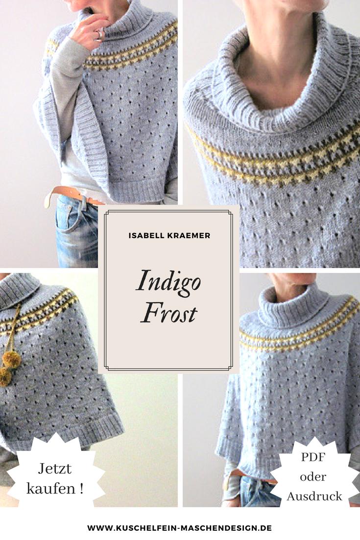 Photo of Strickanleitung Indigo Frost von Isabell Kraemer ,  #Frost #Indigo #Isabell #Kraemer #pullisi…