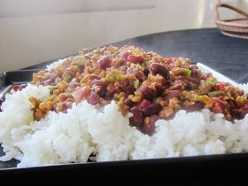 Chef Tess Bakeresse: Cajun Red Beans, Sausage and Rice Meal in a Jar (The 52 method continues)