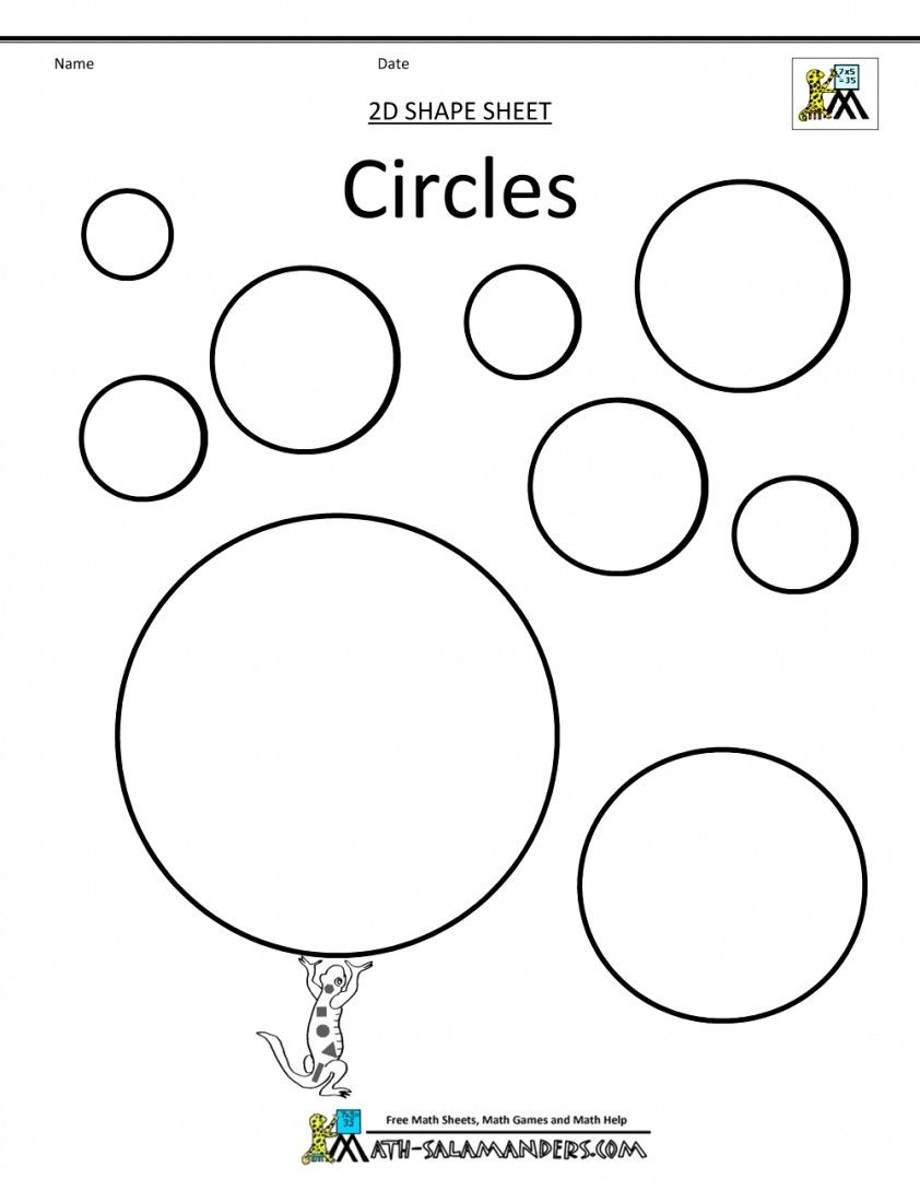 25 Creative Picture Of Circle Coloring Page Entitlementtrap Com Shape Coloring Pages Shapes For Kids Free Printable Coloring Pages