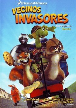 Vecinos Invasores Online Latino 2006 Peliculas Audio Latino Online Animated Movies Funny Best Kid Movies Kids Movies
