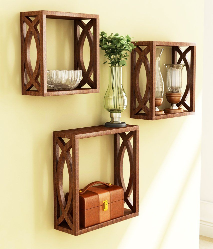 BeHome Set Of 3 Cubes - 463BR | Shelves | Pinterest | Products, Of ...