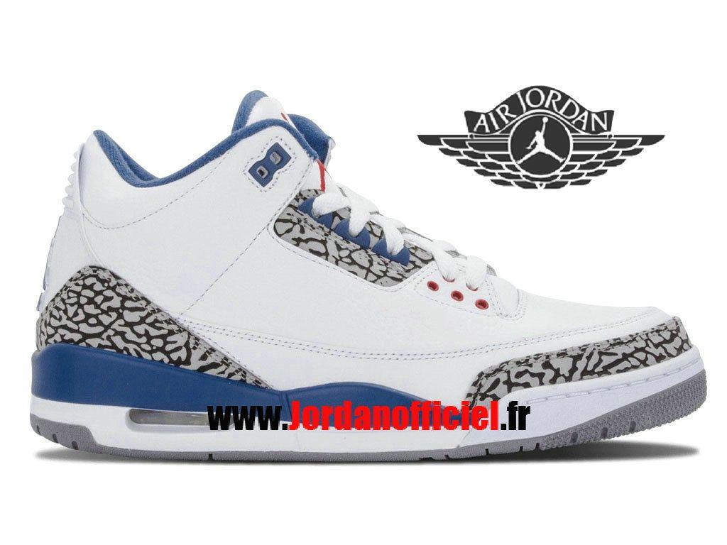 chaussures de séparation ea2ff 7b96c Air Jordan 3(III) Retro - Chaussures Baskets Offciel Pas ...