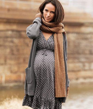 f1e8a65eaf5 HM, moda premamá otoño-invierno, ropa de embarazada de H&M ...