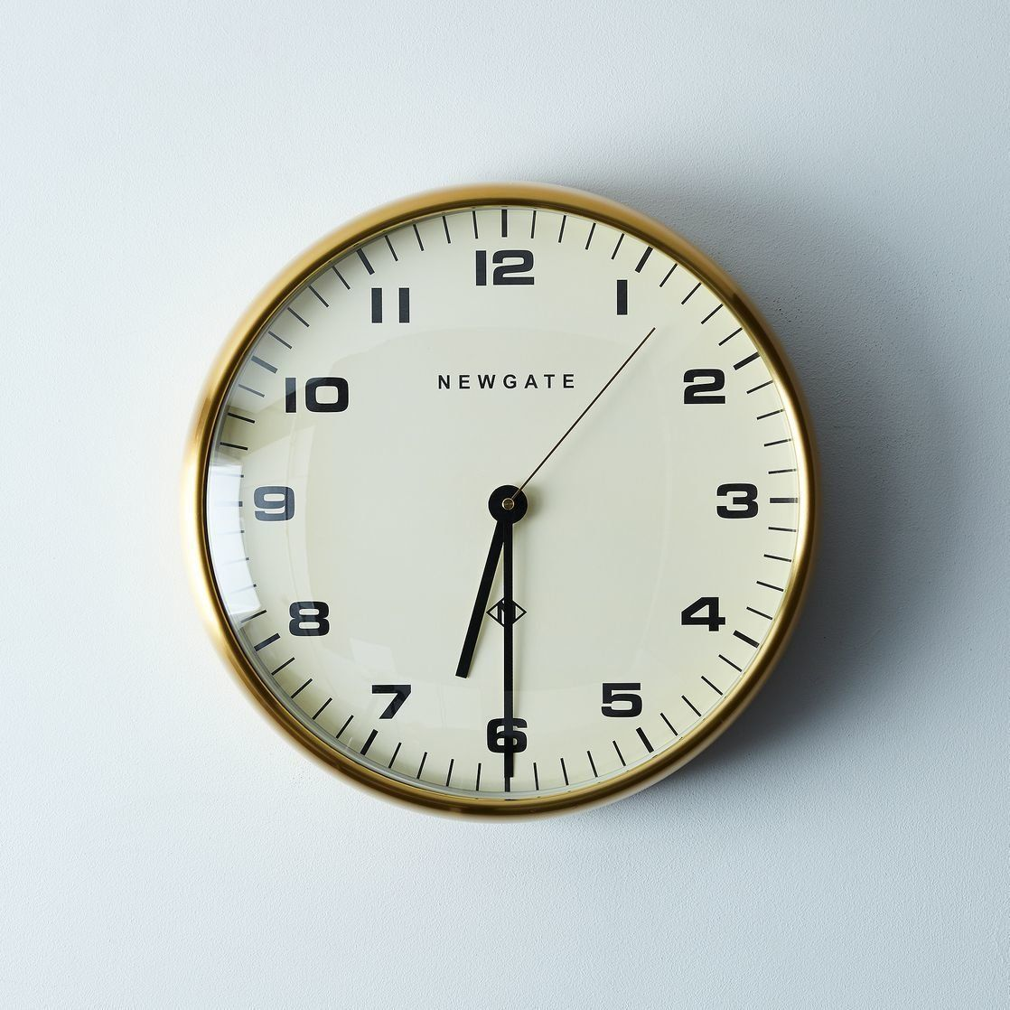 Chrysler Brass Wall Clock by Food52   Wall clocks, Clocks and Walls