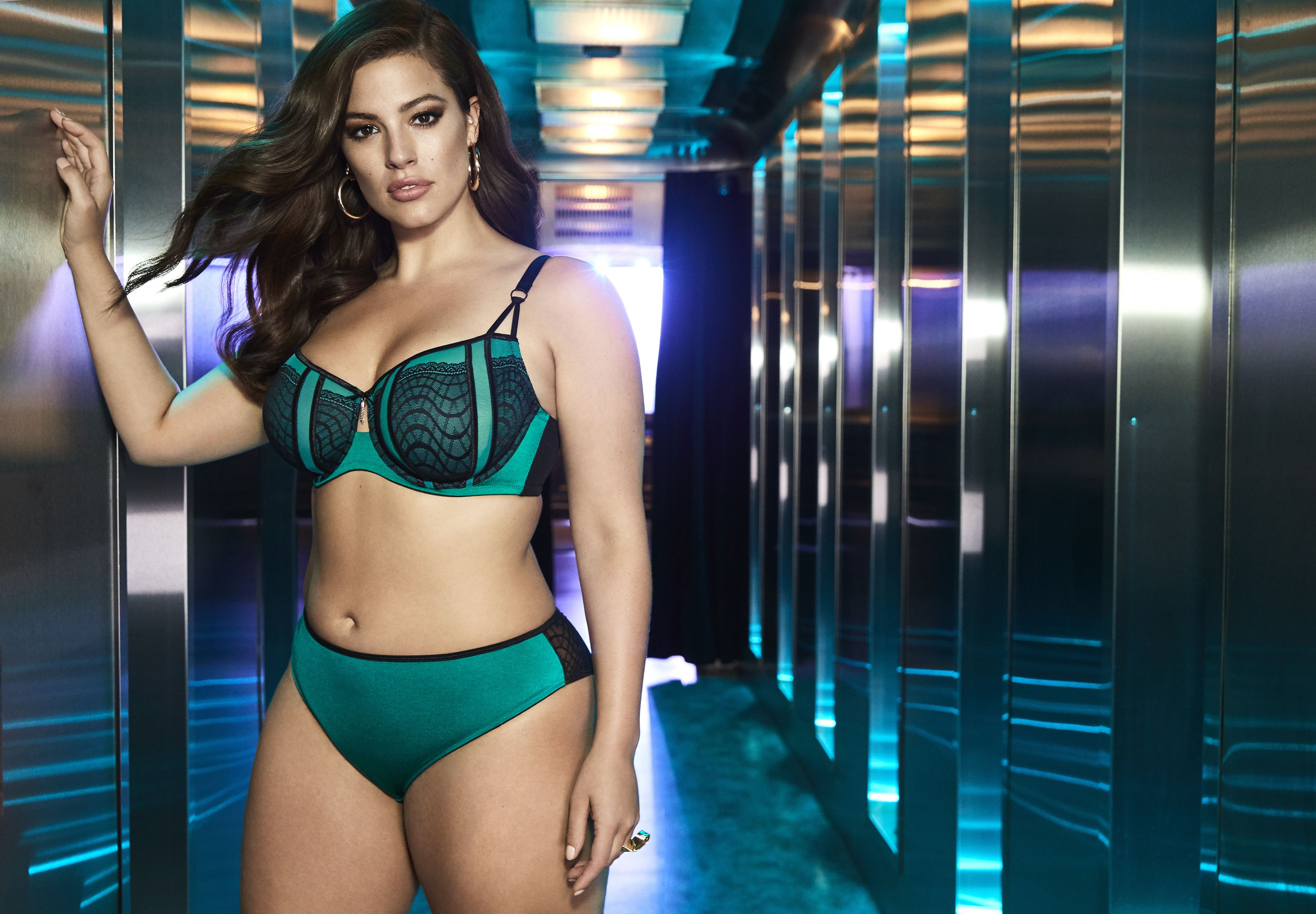 Ritz Collection - Ashley Graham Fatal Attraction Bra with Matching Panty 19c082153