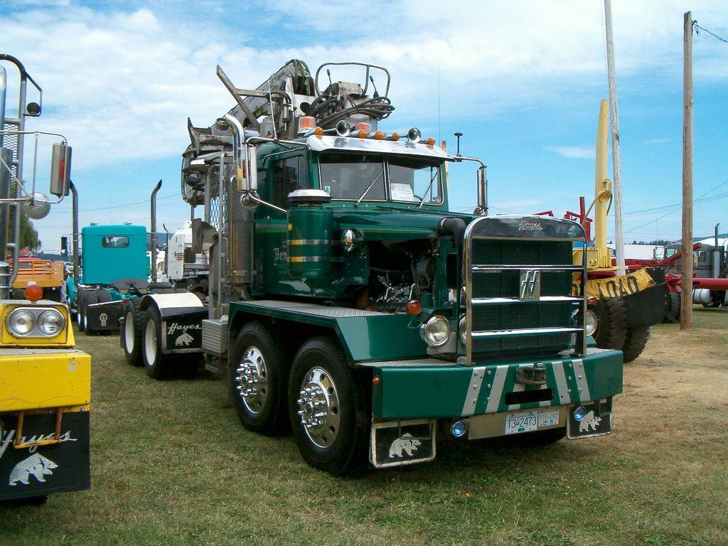 Hayes dual steer truck tractor. Rich Bennett Trucking | Flickr - Photo Sharing!