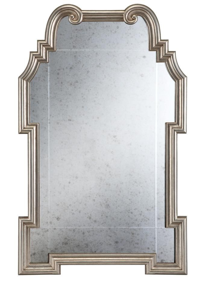 Silver Leaf Antique Chippendale Mirror Antique Mirror Silver Leaf