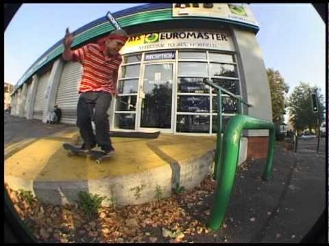 Paul Alexander Bristol Skateboarding