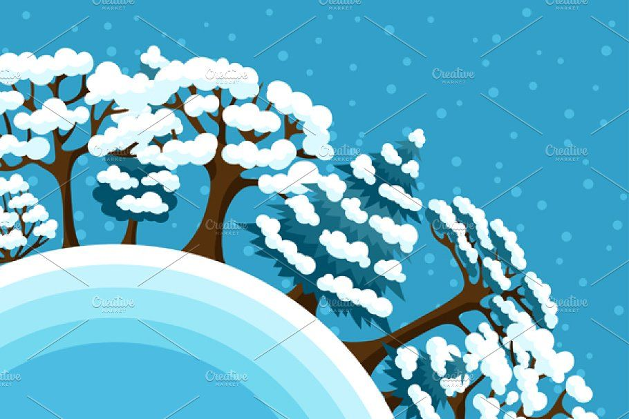 Photo of Winter backgrounds with trees. , #AFF, #backgrounds#Winter#abstract#trees #affil…