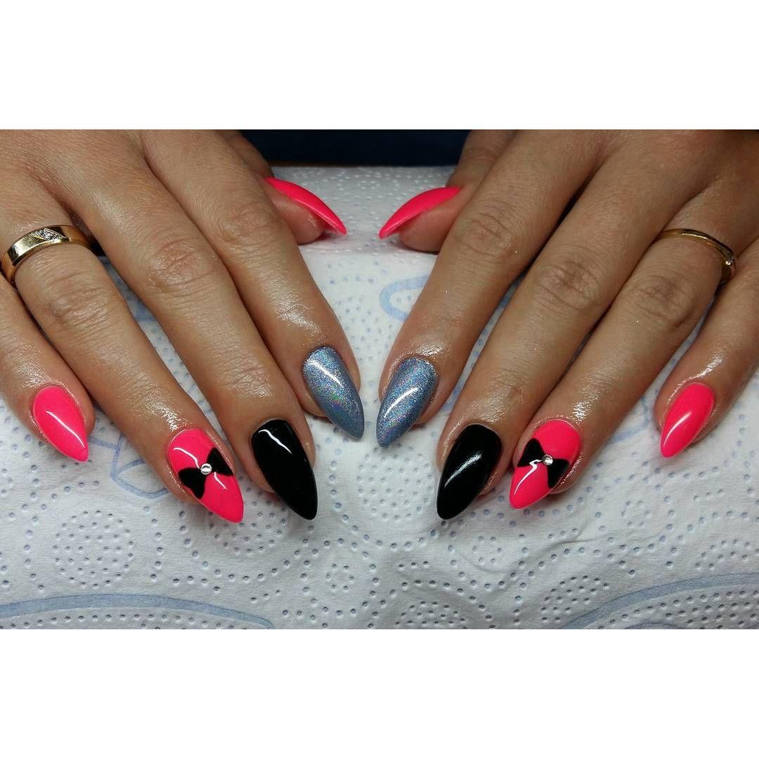 Wszyscy maja holo, mam i ja :D #nails #hybryda #manicurehybrydowy ...