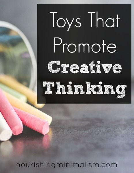 Children S Toys That Promote Creative Thinking Minimalist Kids