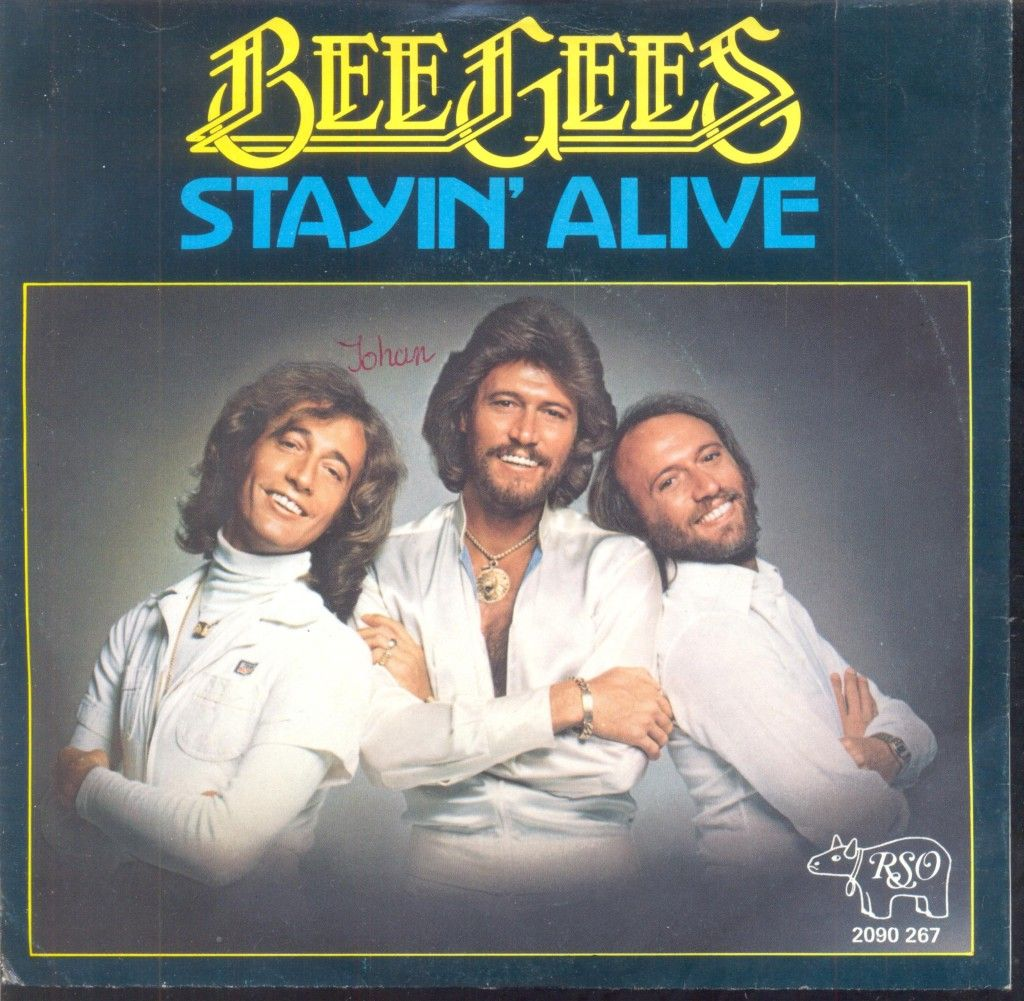 Know these dudes? Of course you do! Stayin' Alive is