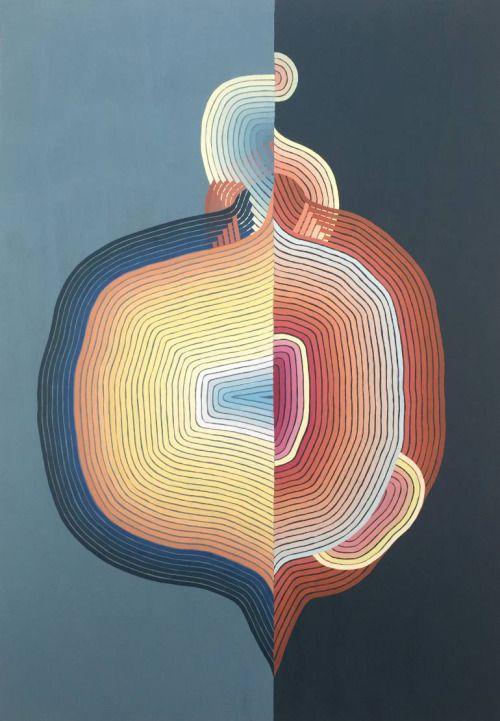 "theegoist: "" Jenny Kemp - Fleshly (Gouache on paper) http://www.saatchiart.com/art/Painting-Fleshly/758655/2862111/view """
