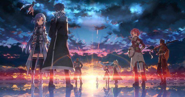 The Best Fantasy Anime Of All Time Sword Art Online Wallpaper Sword Art Online Kirito Online Art