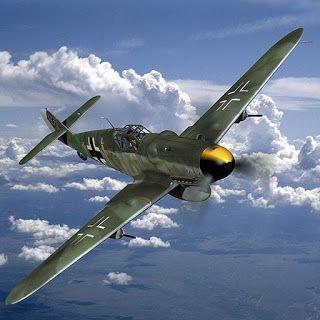 AVIÕES MILITARES: Messerschmitt Bf 109