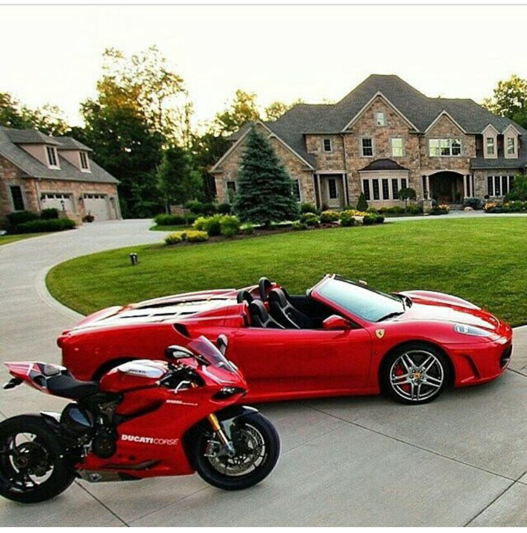 Red Luxury Cars: Life Goals. Live Like An LBinary Trader And Earn $127,000