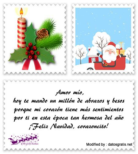 buscar bonitos textos para enviar por whatsapp en Navidad,descargar poemas para enviar por whatsapp en Navidad : http://www.datosgratis.net/bonitos-saludos-por-navidad/