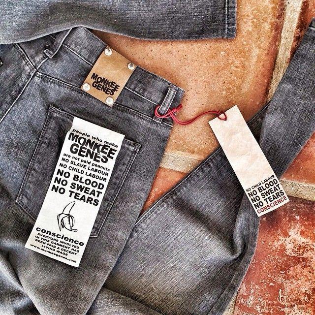 #Regram of @salvadorSalva grey denims #monkeegenes #grey #denim #ethical #denim #sustainable #style #fashion