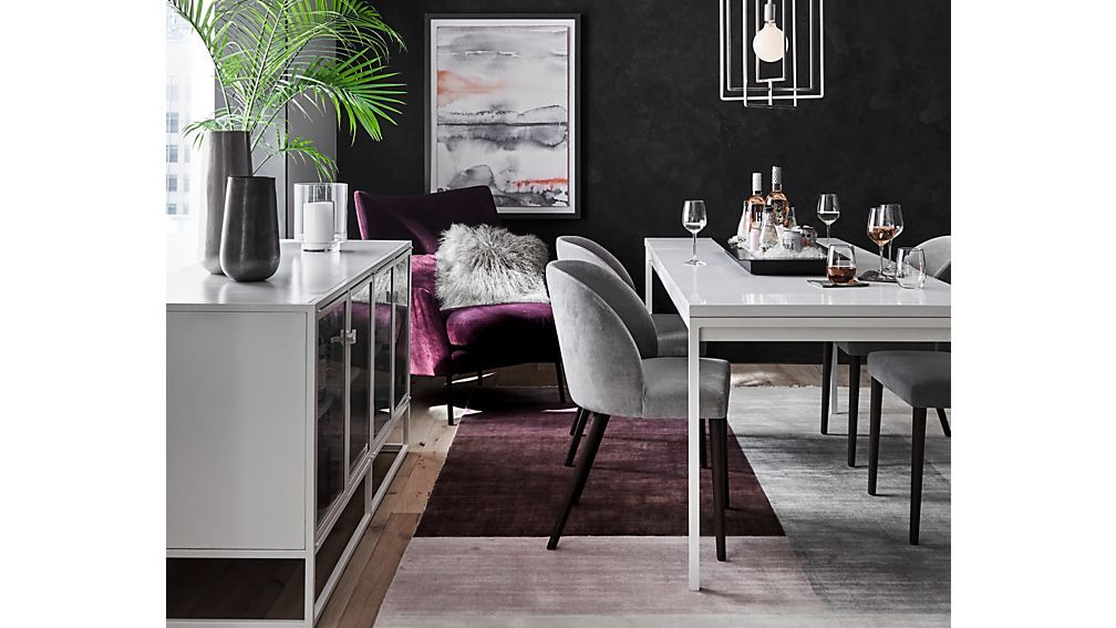 Casement White Solid Surface Dining Table Reviews Crate And Barrel Velvet Dining Chairs Dining Table Black White Dining Table