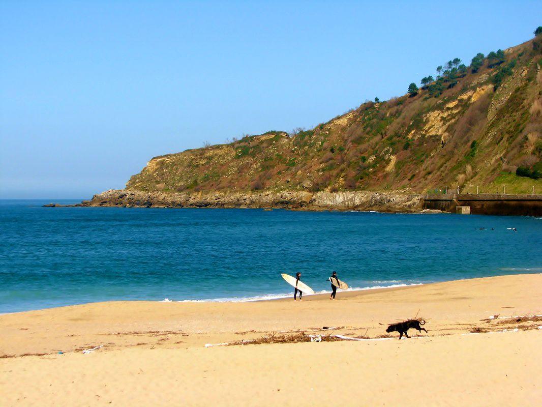 Zurriola beach, San Sebastián: City break by the sea