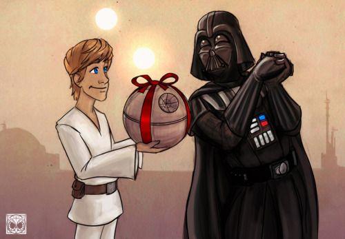 I AM your Father/ Stormtrooper festa del pap/à Star Wars /Biglietto di auguri divertente Darth Vader pap/à pap/à