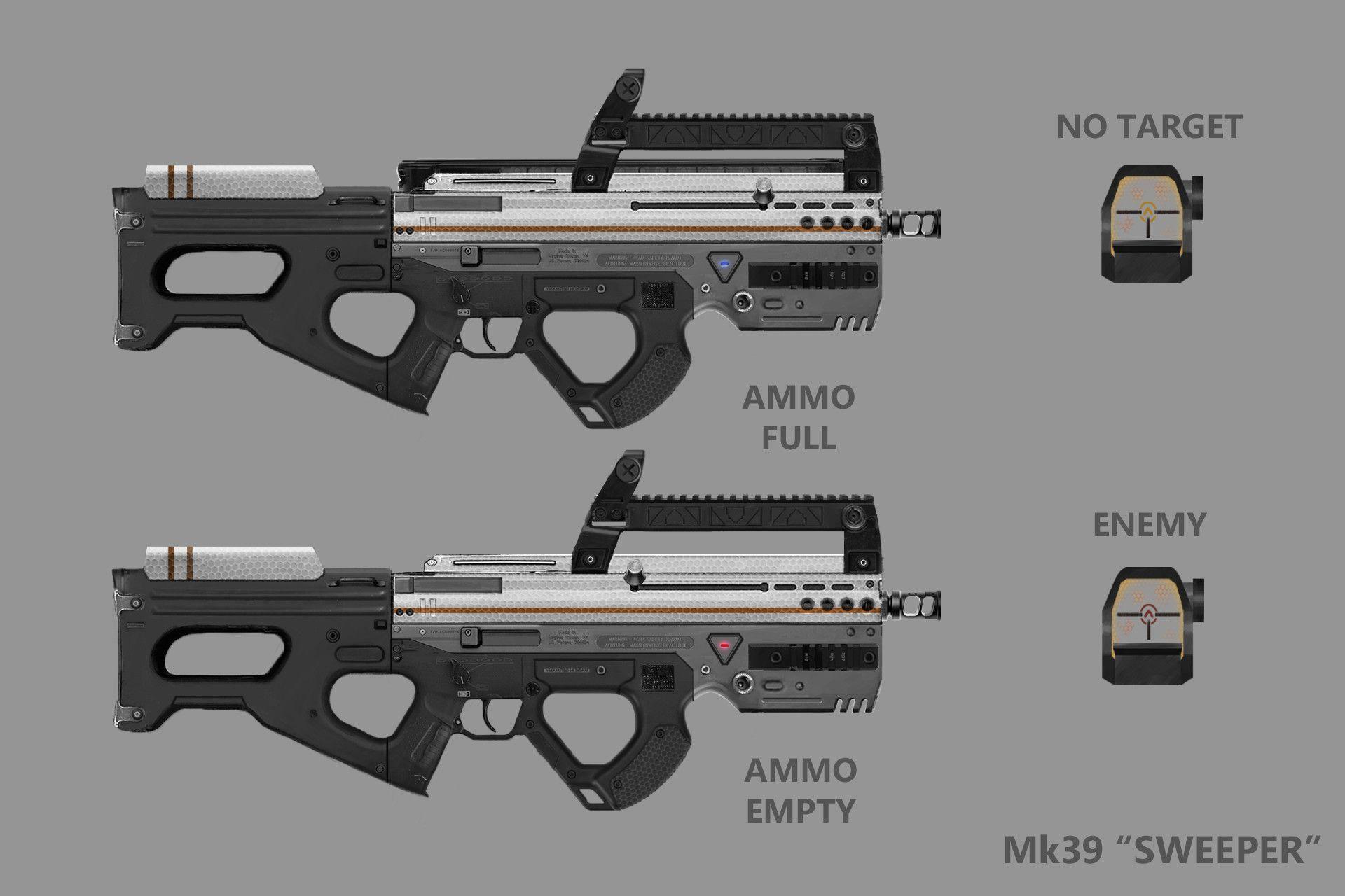 30+ Flechette pistol information