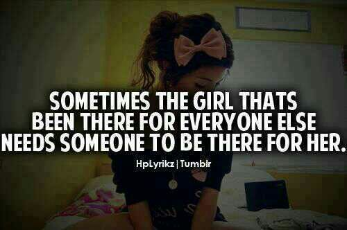 So true people think just because your smiling that your find when reality your not