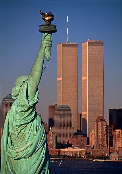 Image result for image 9-11 tower liberty