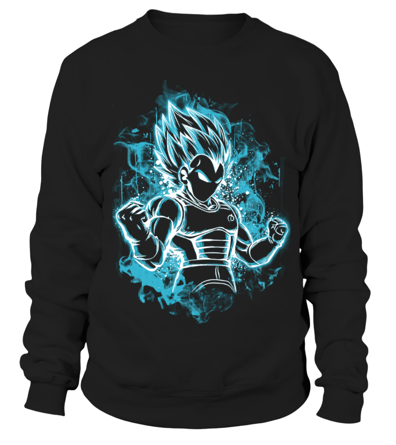 Badass Vegeta Saiyan Blue T-Shirt #gift #idea #shirt