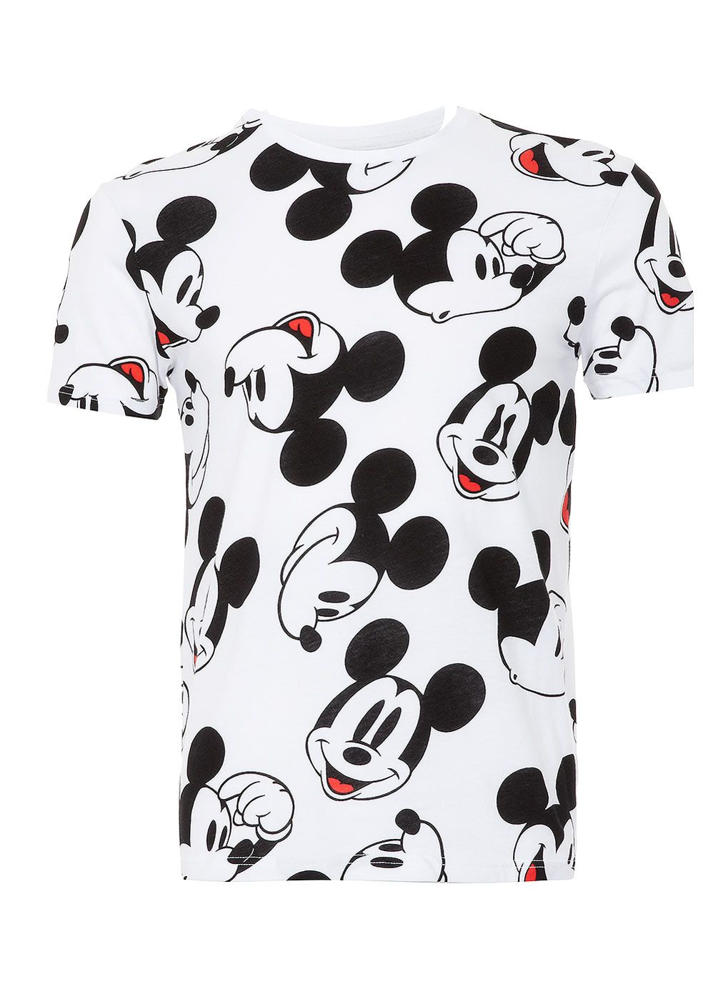 white mickey mouse face t shirt topman price tops shirts mickey mouse t shirt. Black Bedroom Furniture Sets. Home Design Ideas