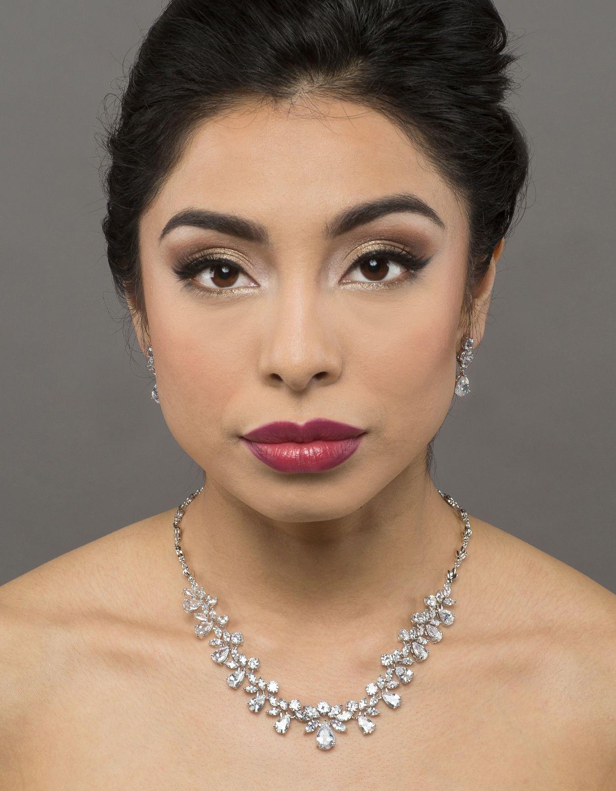 Bridal classics necklace sets mj 259 - Cz 831 Bridal Classics