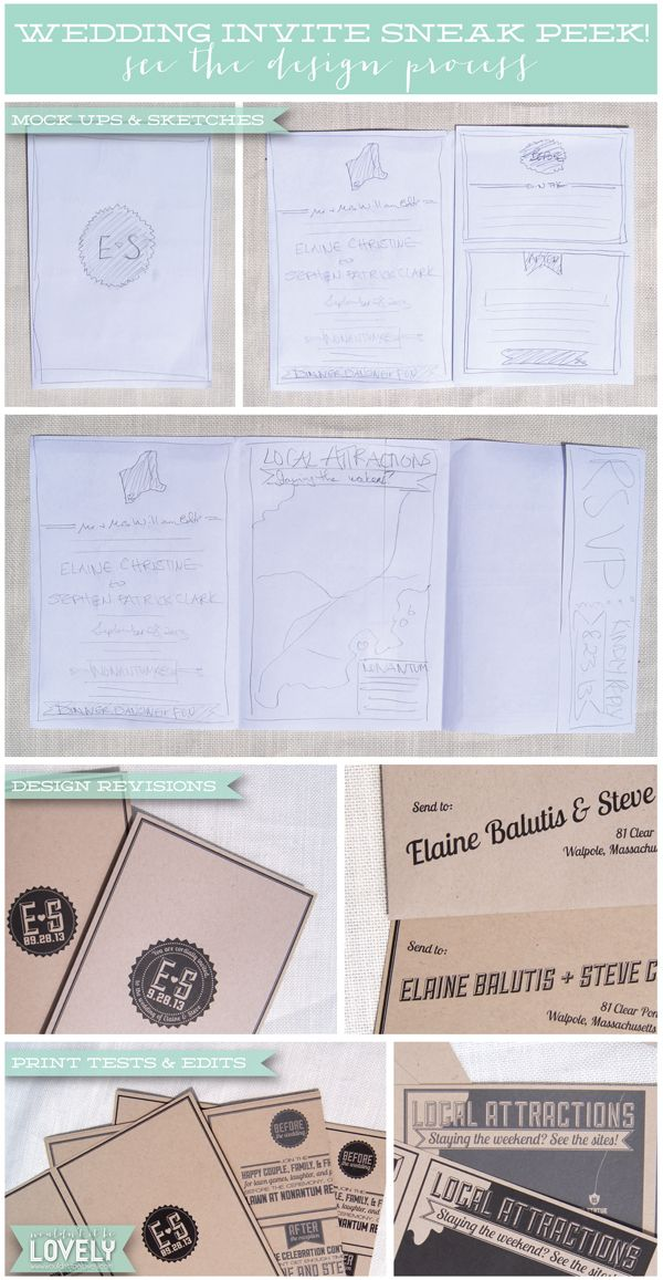 Wedding invitations design process custom wedding design wouldn wedding invitations design process custom wedding design wouldnt it be lovely stopboris Gallery