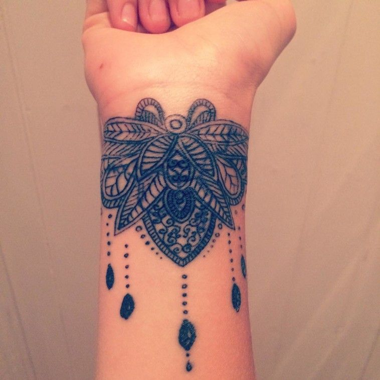 small cover up tattoos on wrist