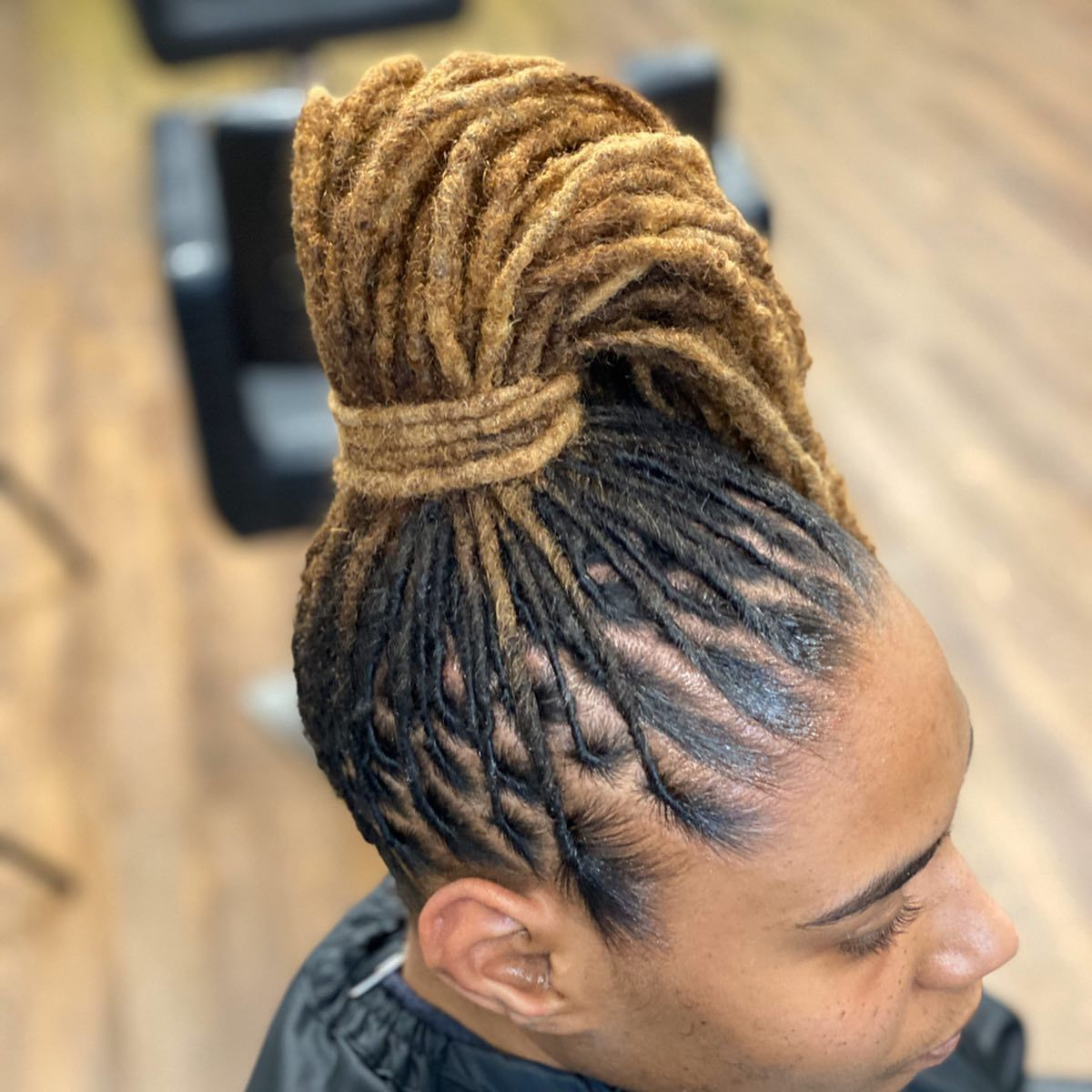High Pony Karibbean Kinks Natural Hair Products Available For Purchase At The Salon Or Online At Www Karibbean In 2020 Natural Hair Styles Natural Hair Salons Hair