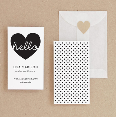 Great diy business card ideas patterns prints paper great diy business card ideas reheart Images