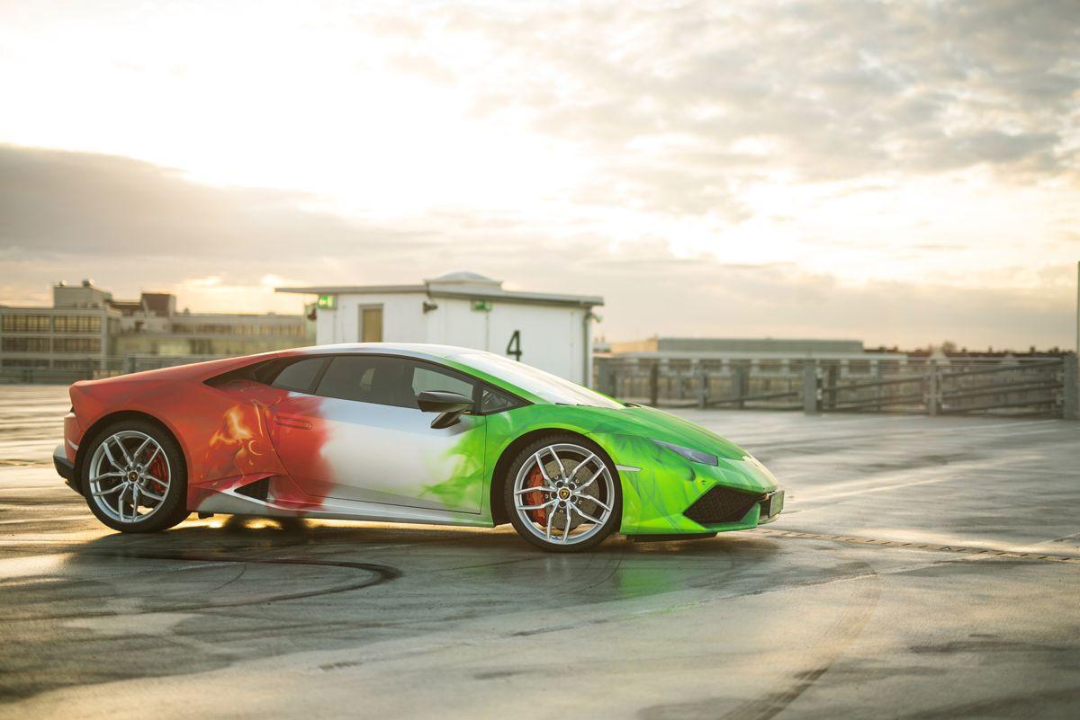 Print Tech Gives The Lamborghini Huracán Some Fire!