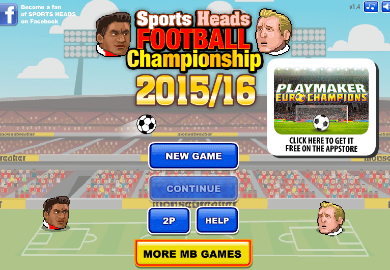 Pin By Online Games On Unblocked Games Sports Head Football Games News Games